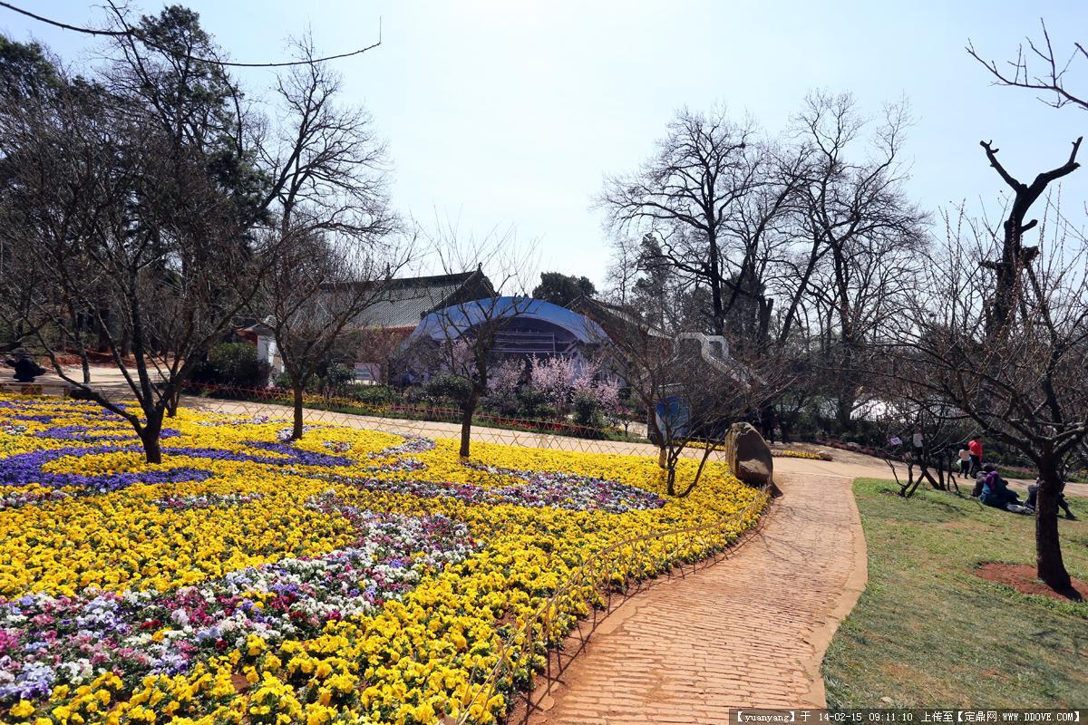 黑龙潭公园的风景