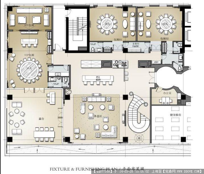 某酒店总裁会所概念设计方案