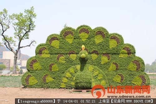 生态动物雕塑 006