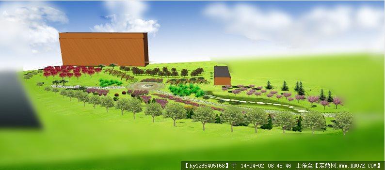 up 精品模型---新古典风格商业住宅及精细景观 植物组件——手绘植物s