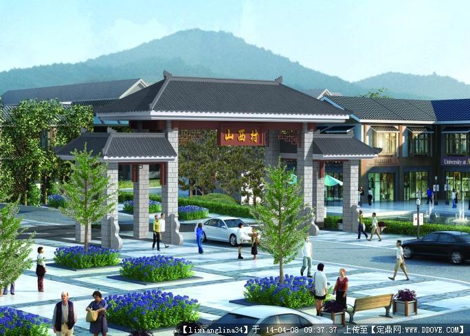 中式古建筑入口