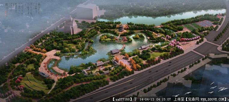 惠州路江公園概念景觀設計2013