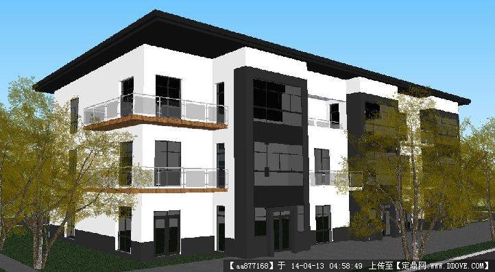 新农村三层别墅室内设计图
