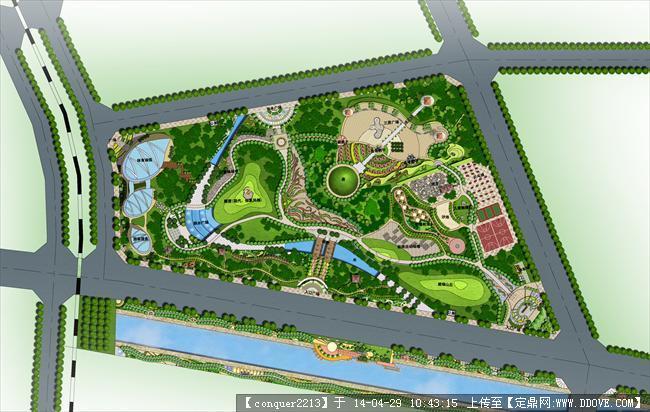 某运动公园设计方案