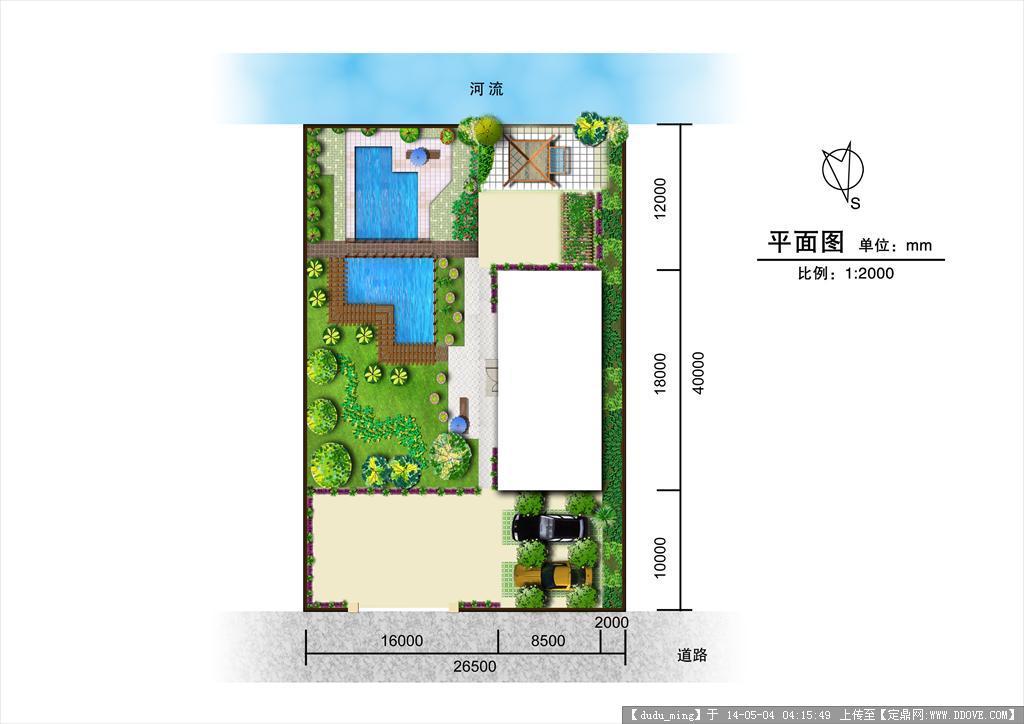 某庭院设计平面图的下载地址