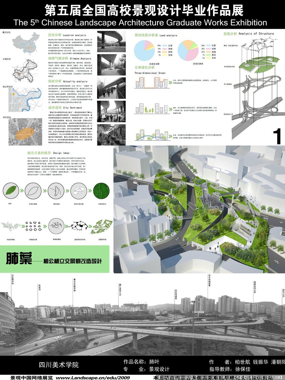 毕业设计 展板 03的图片浏览,景观