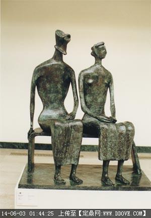 亨利摩尔雕塑作品