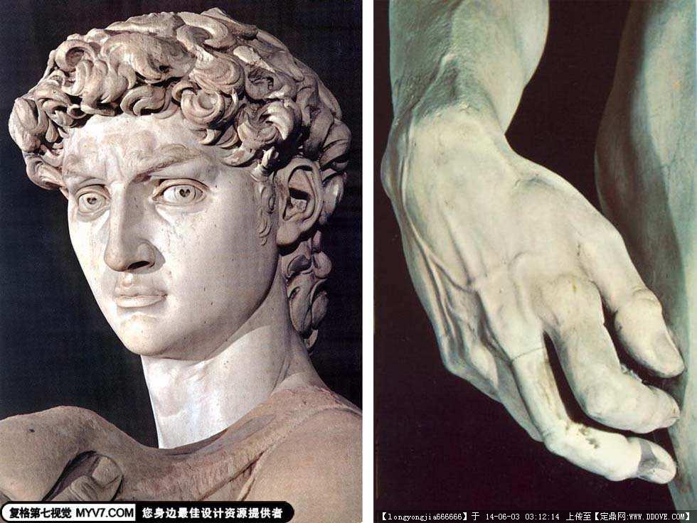 雕塑大师 米开朗基罗 雕塑作品 021