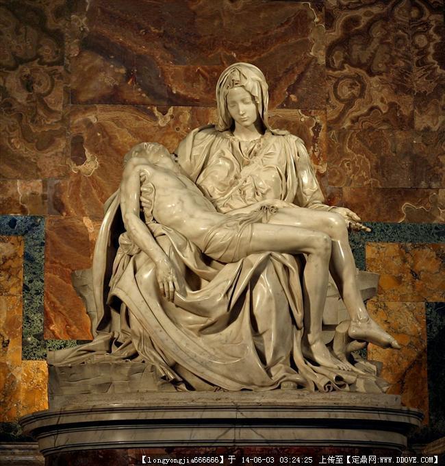 雕塑大师 米开朗基罗 雕塑作品 031