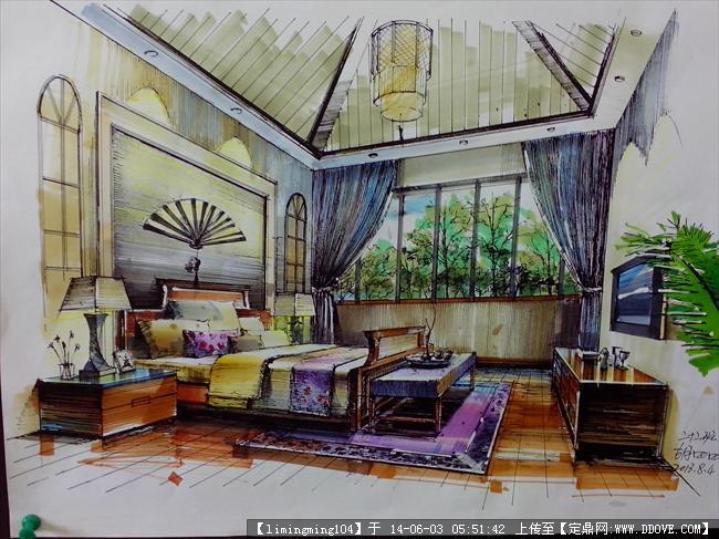 室内设计手绘作品