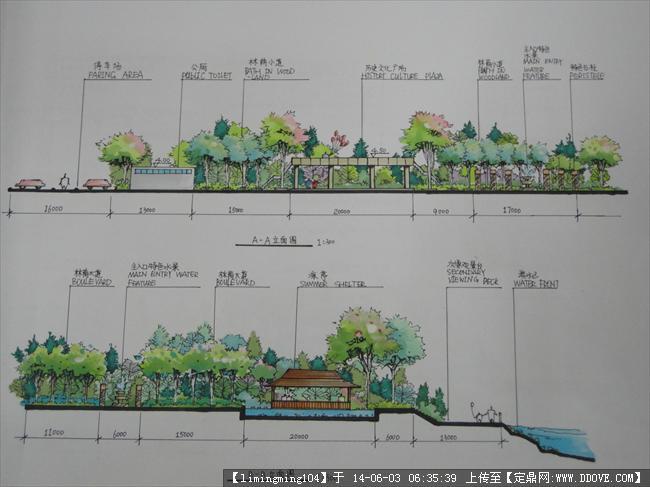建筑学设计手绘排版_建筑学设计手绘排版分享展示图片