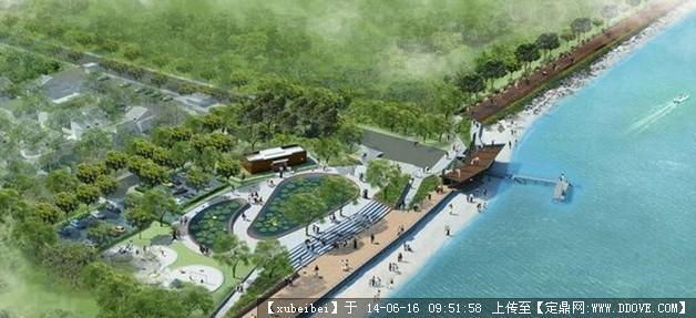 别墅庭院景观设计 某喷泉平面施工图 某庭院亲水步道铺装及施工图