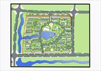 自己设计的小区规划设计