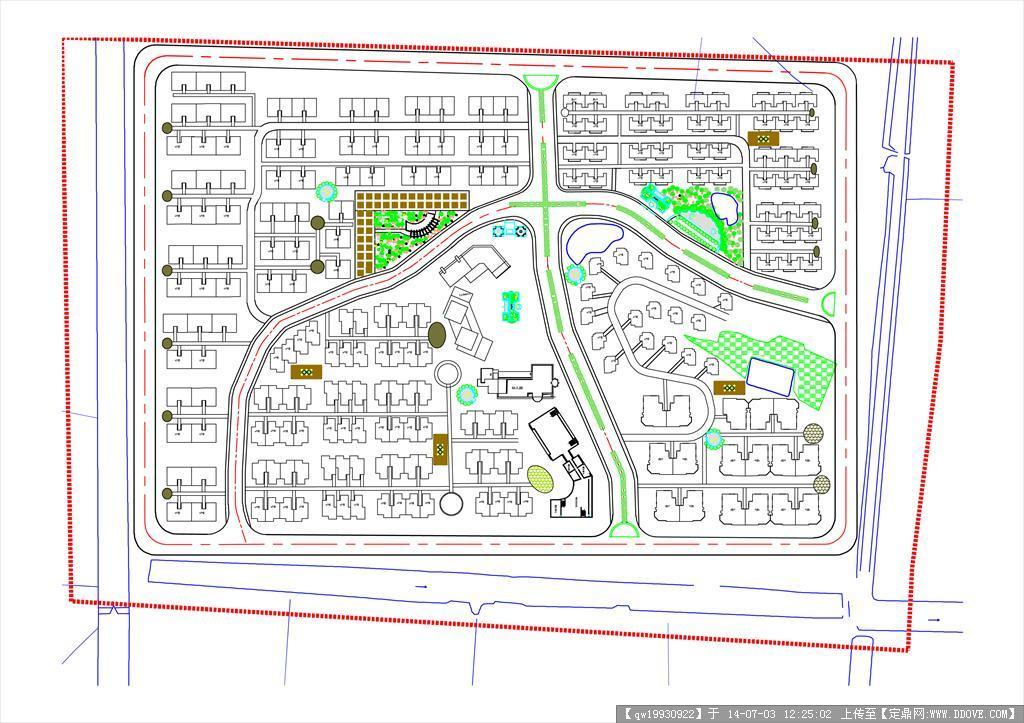 村镇规划设计方案图