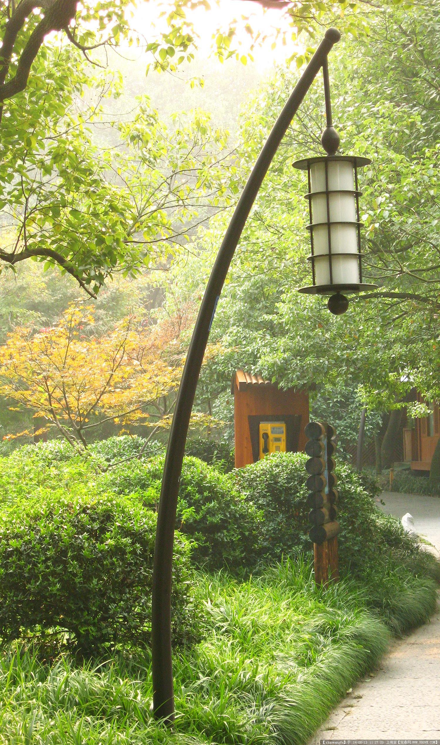 园林照明灯具实景图片(上)