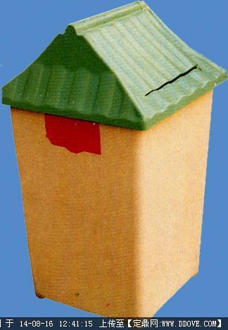 园建小品——造型垃圾桶实景图片