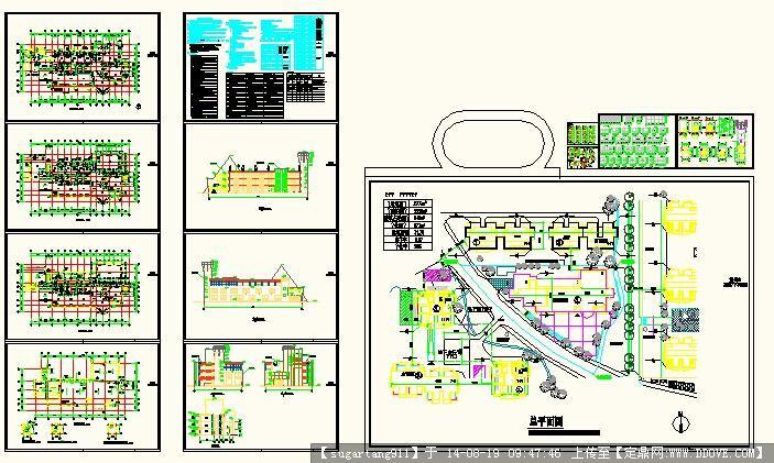 幼儿园建筑设计全套cad图纸