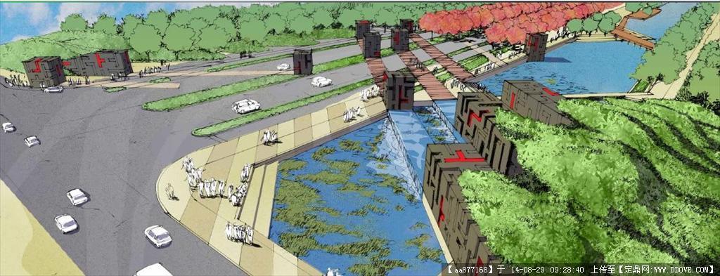 某科技产业园首期道路景观设计方案文本