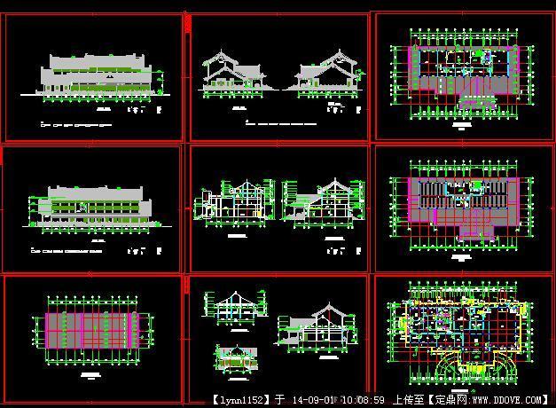 园林古建设计施工图