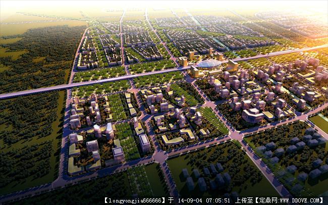 城市规划与建筑设计方案效果图经典设计 七