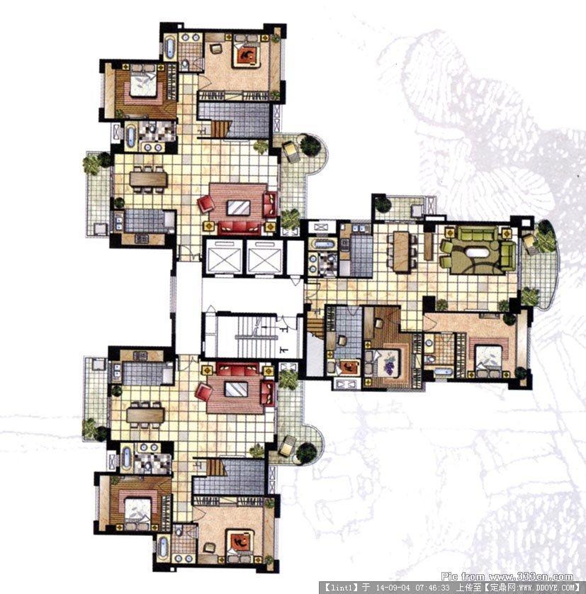 室内设计方案平面布置图的图片浏览,室内方案图纸,,.