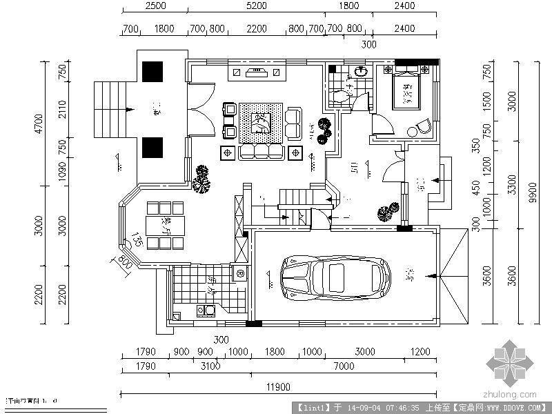 室内设计方案平面布置图