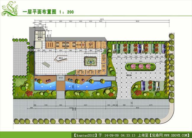 售楼部景观规划设计平面图的下载地址,园林方案设计