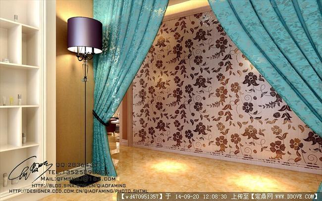 美容院室内装修设计效果图