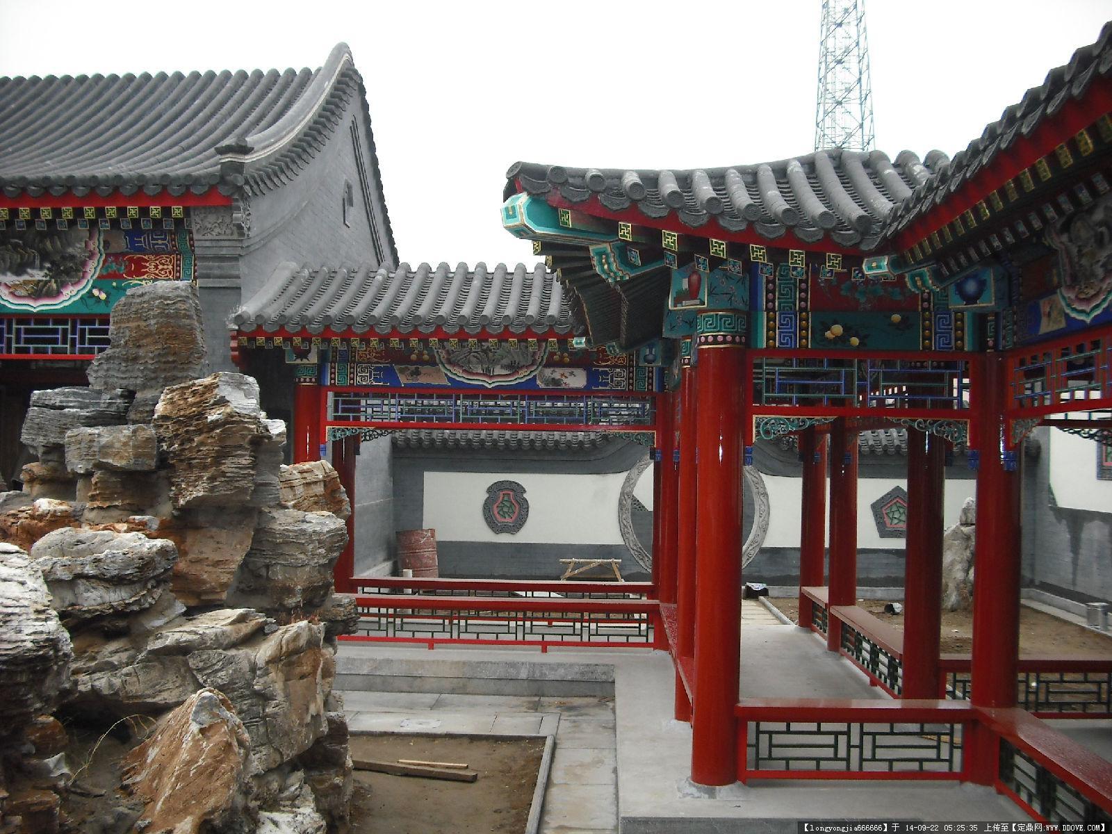 古建彩绘图案 003的图片浏览,建筑实景照片,中国古建