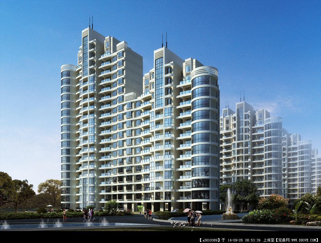 某大型居住區建筑規劃設計方案文本