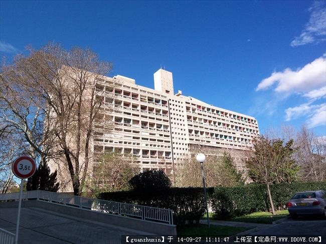 法国马赛经典欧式新古典建筑群大师建筑实景照片5