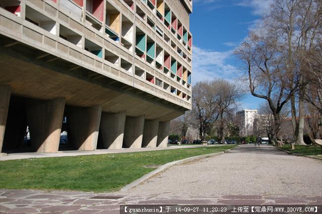法国马赛经典欧式新古典建筑群大师建筑实景照片19