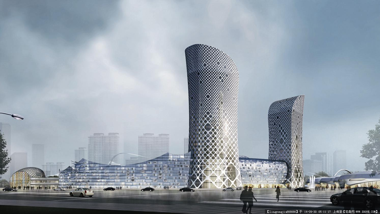 慈溪未来城城市规划设计效果图