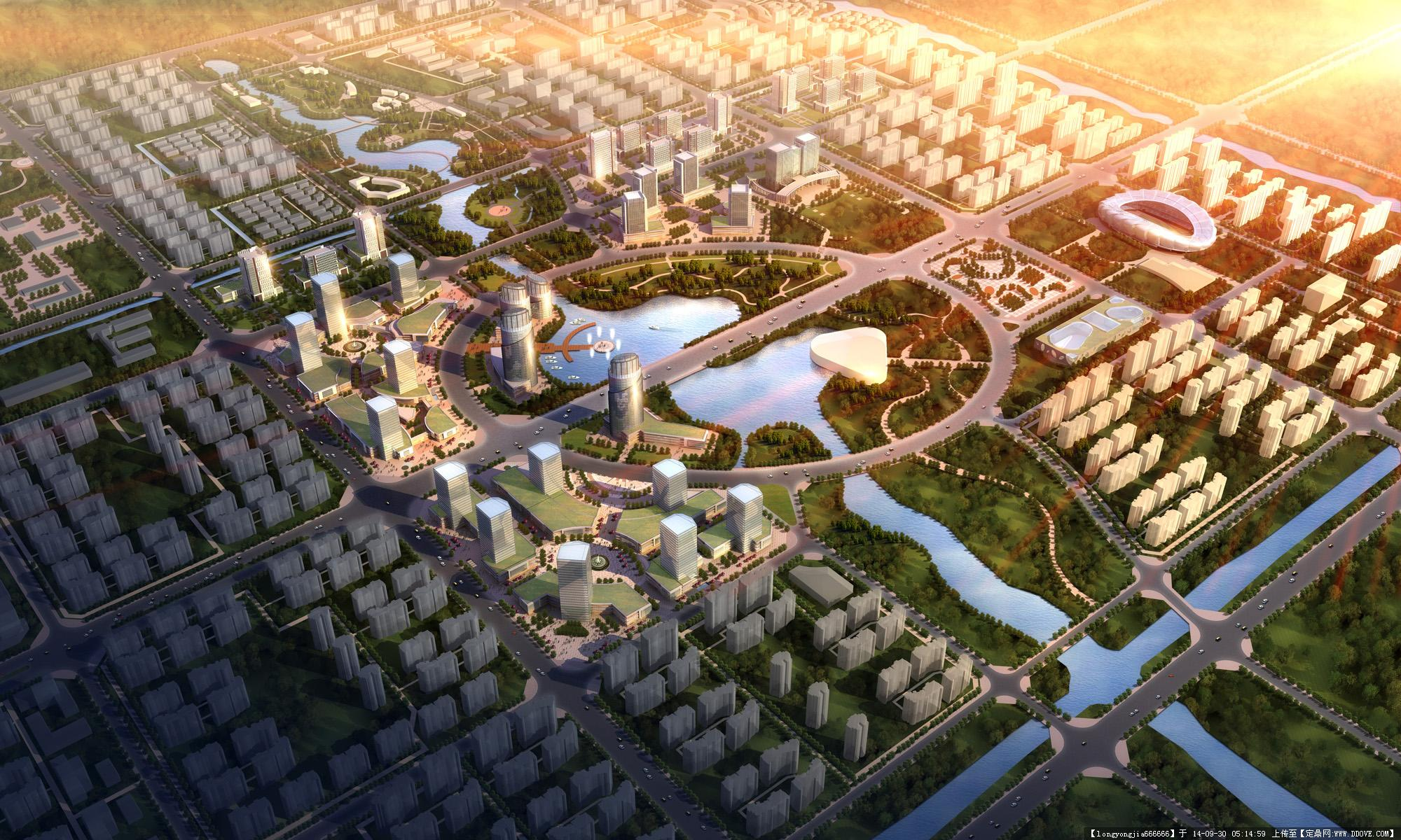 大丰规划城市规划设计效果图