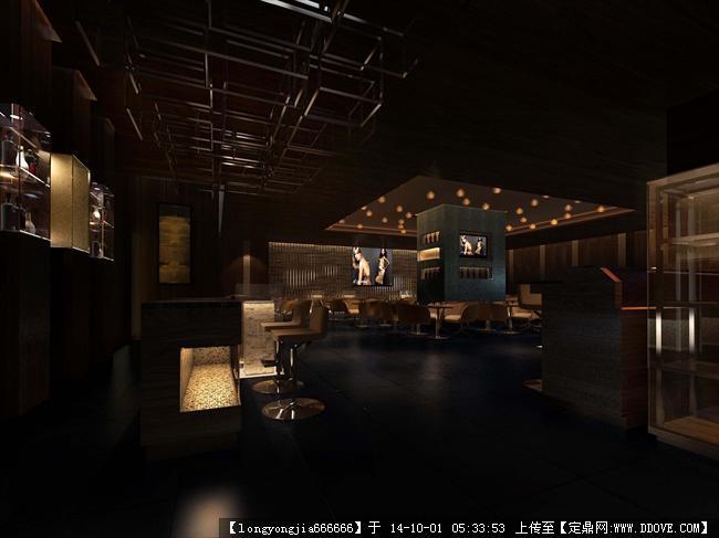 餐饮空间室内装修设计效果图 18的图片浏览,室内效果图,酒楼餐厅