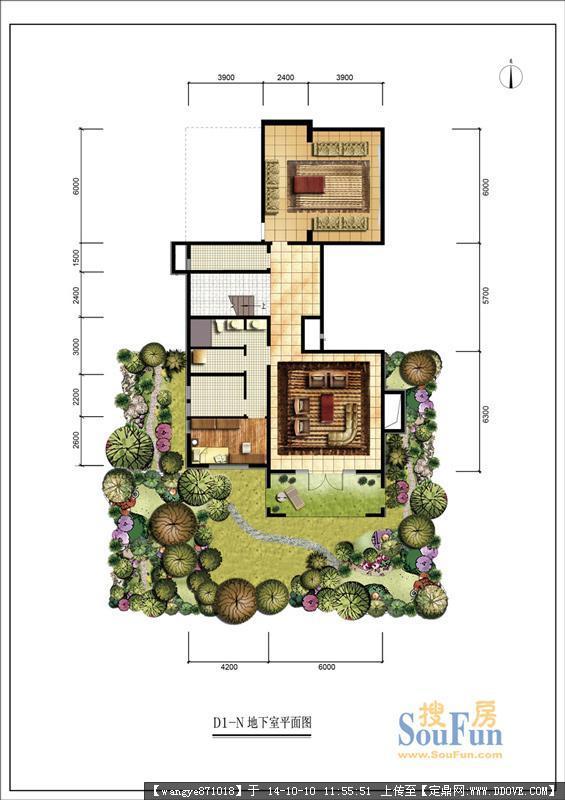 别墅户型图平面图