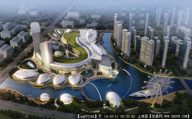 慈溪未来城规划设计效果图