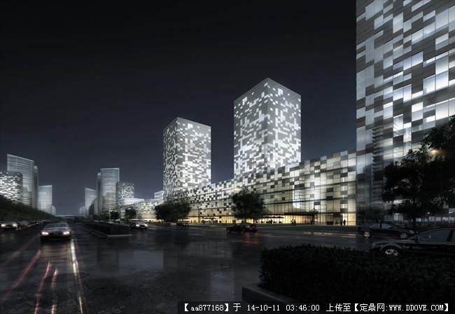镇江丁卯科技园项目规划设计效果图