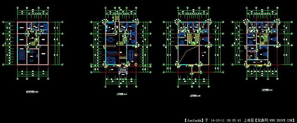 农村自建房建筑设计平面图的下载地址