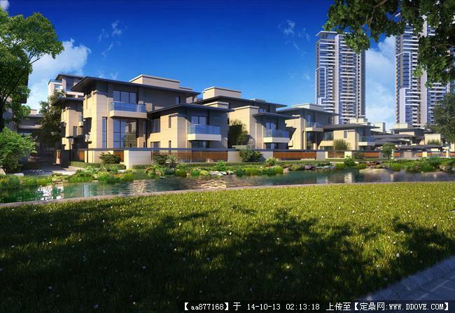 格力住宅居住建筑设计效果图