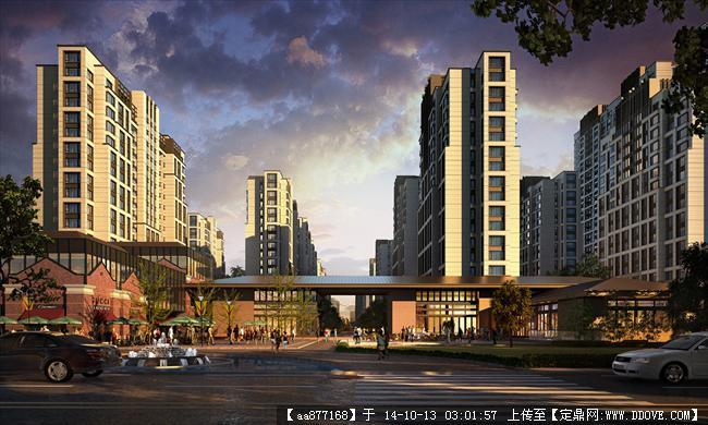 木渎项目居住建筑设计效果图