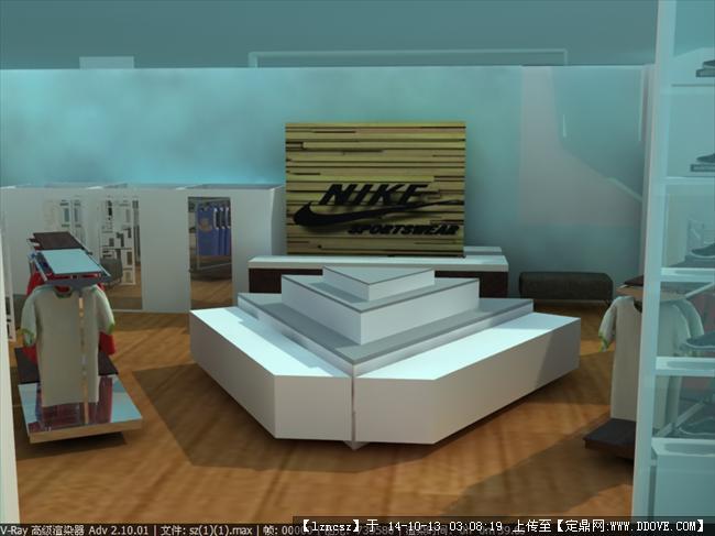 nike专卖店室内设计方案
