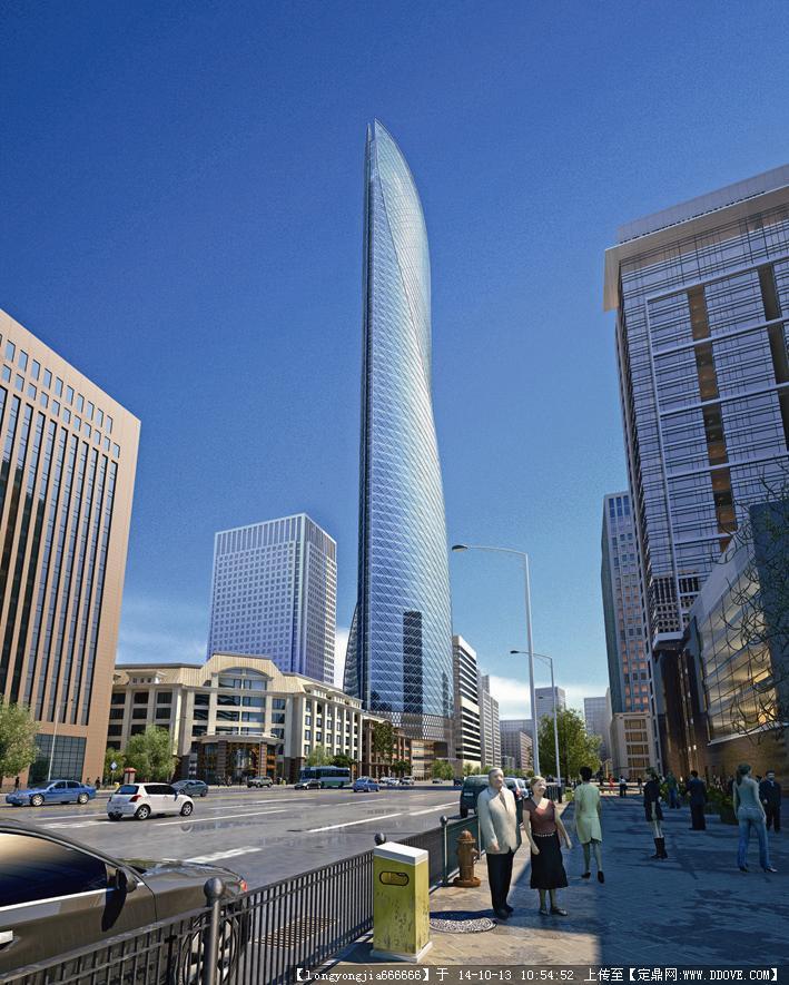 重庆超高层建筑设计效果图