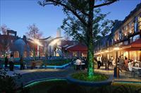 中华巴洛克商业建筑设计效果图