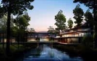 罗浮山别墅建筑设计效果图