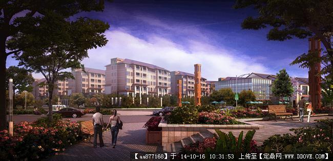 扬州万科居住建筑设计效果图