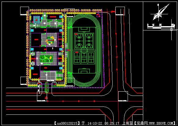 小学规划方案设计平面图