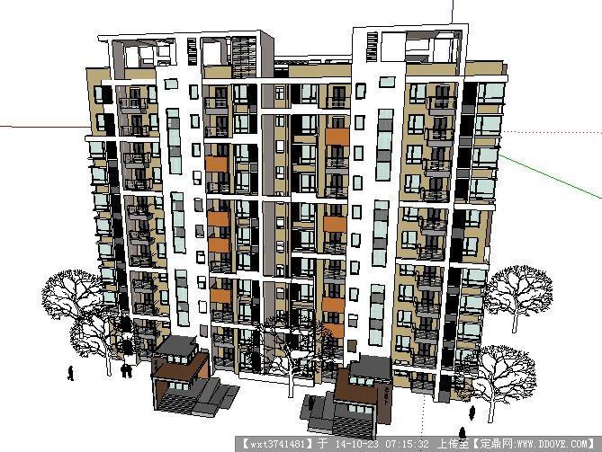 高层建筑结构计算模型