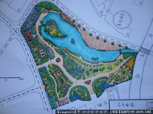 城市公园规划设计方案平面图