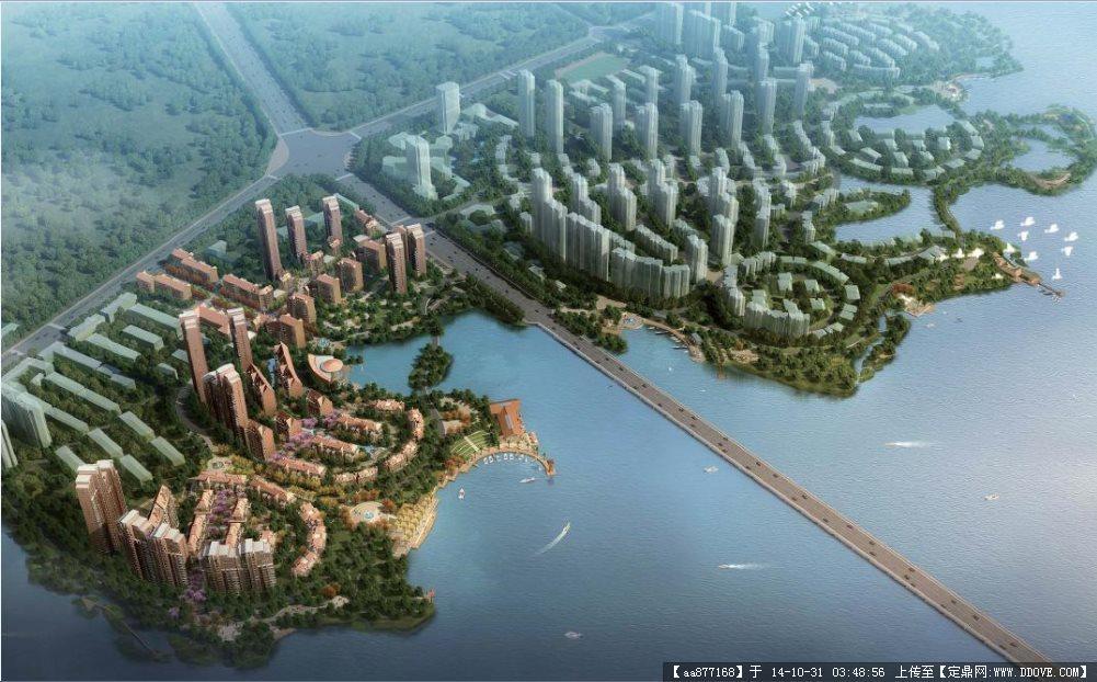鄂州某大型居住區景觀方案深化設計文本